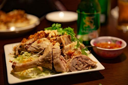 ベトナム風鶏サラダ